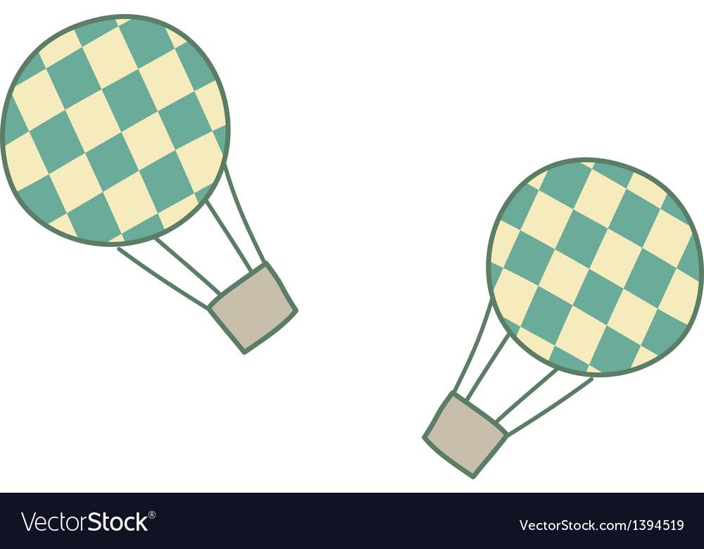 A hot-air balloon vector   Price: 1 Credit (USD $1)