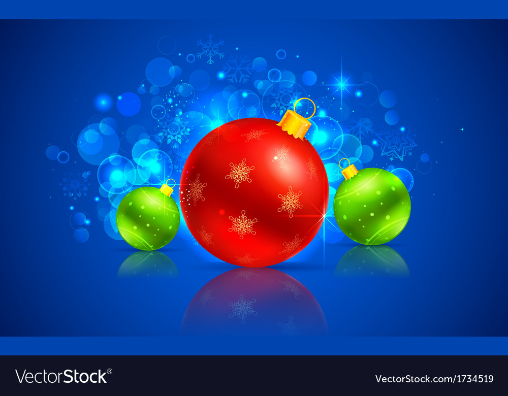 Christmas bauble vector | Price: 1 Credit (USD $1)