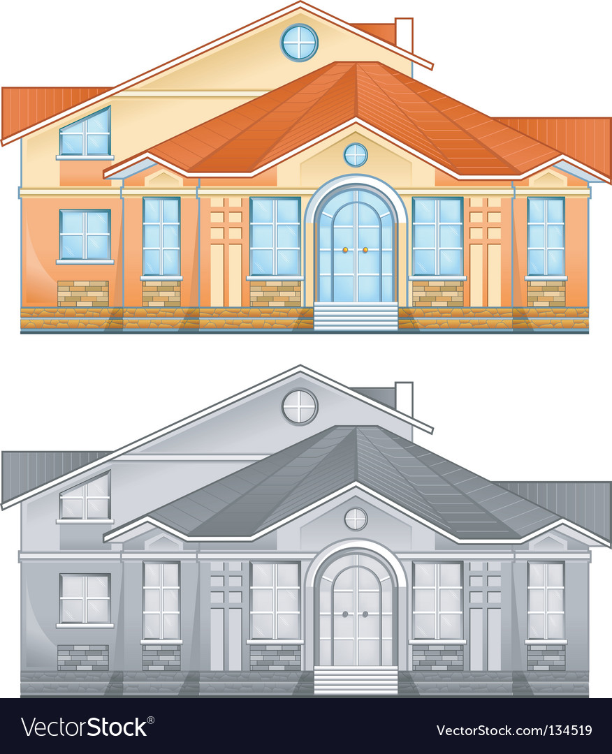 Country residence vector | Price: 1 Credit (USD $1)