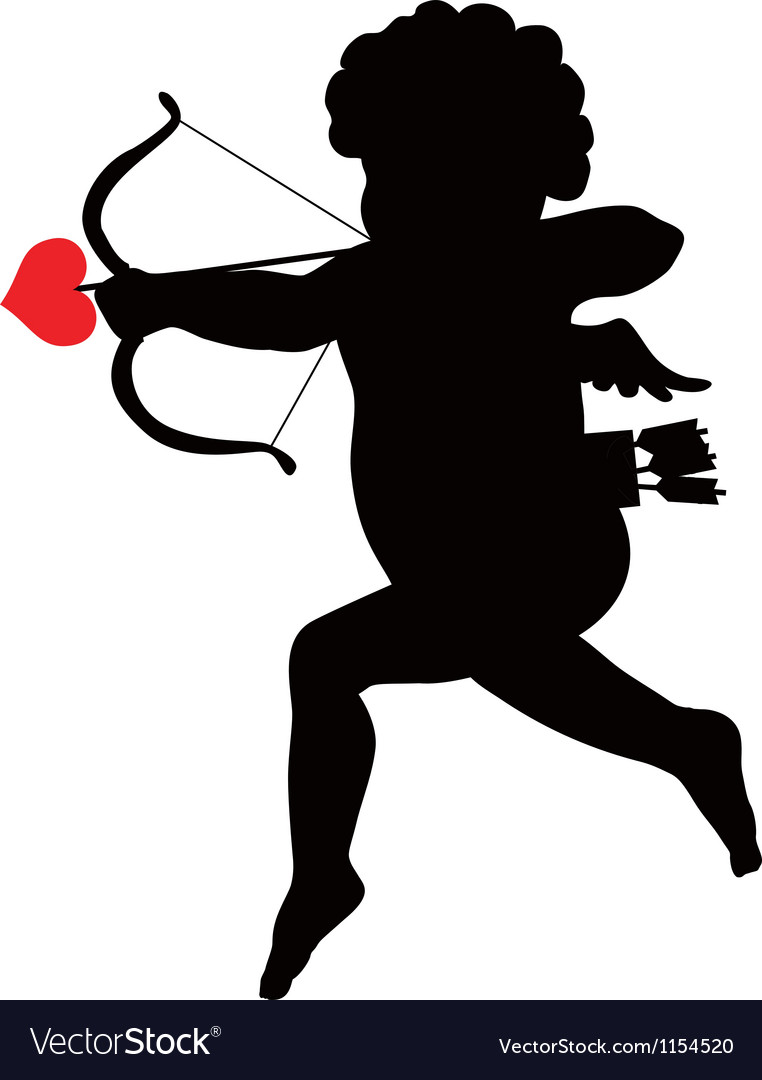 Amour silhouette vector | Price: 1 Credit (USD $1)