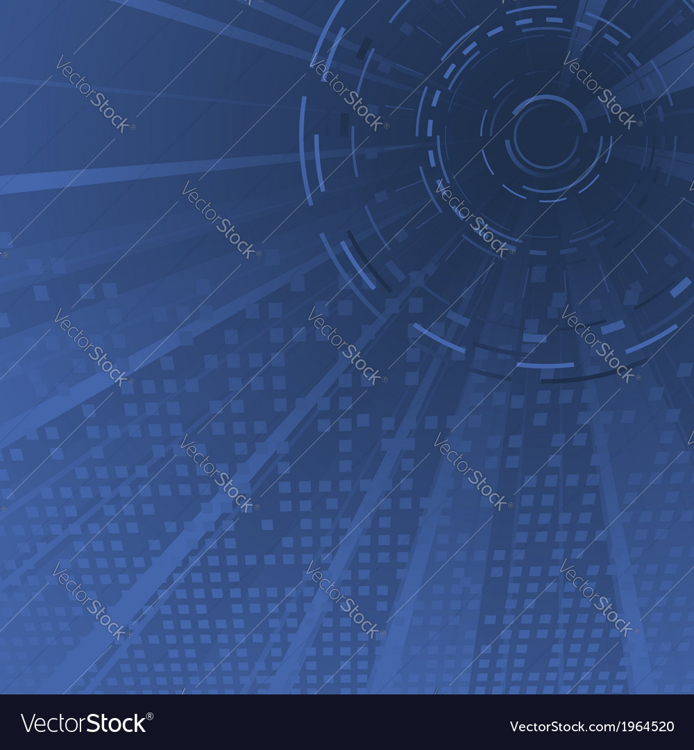 Dark blue technology background template vector | Price: 1 Credit (USD $1)