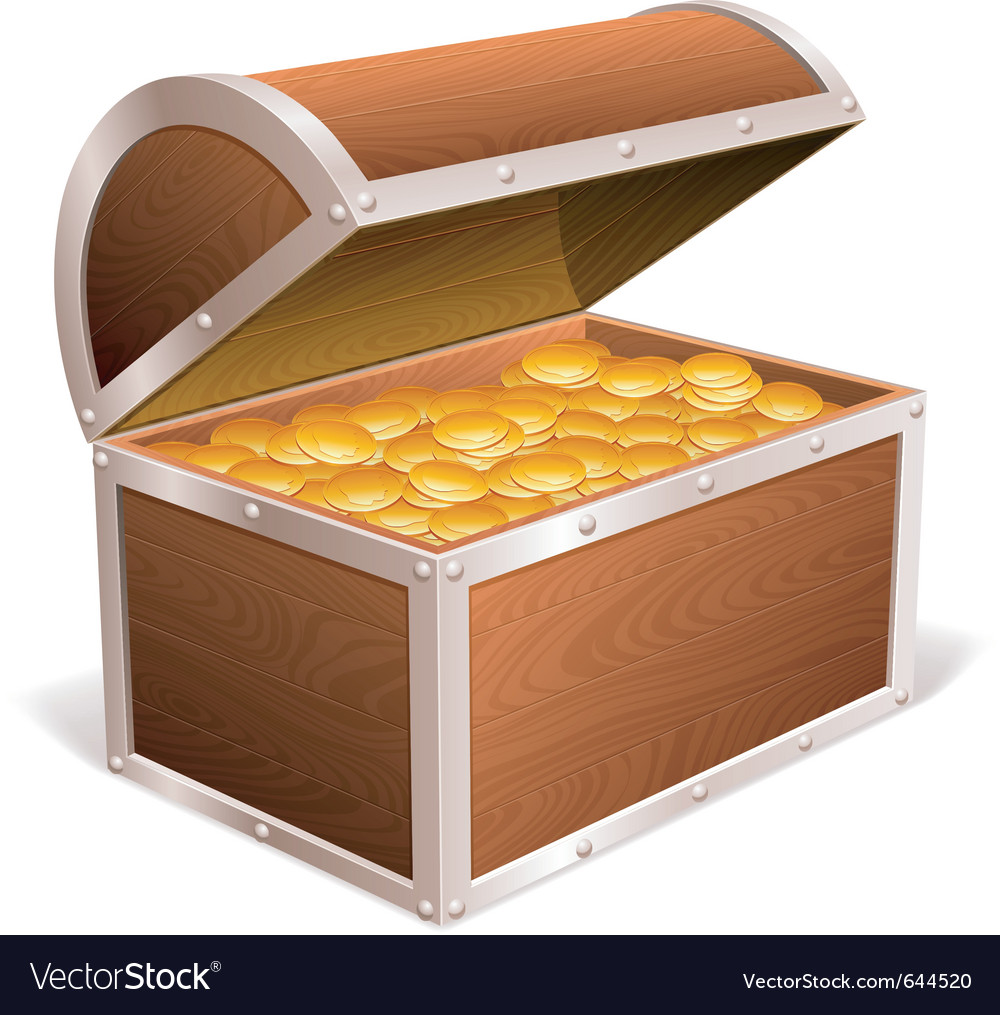 Treasure chest vector | Price: 1 Credit (USD $1)
