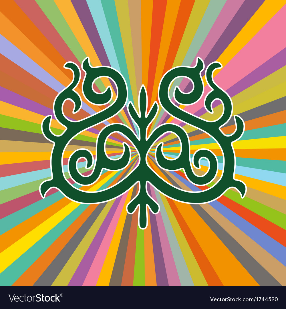 Yakutian ornament vector | Price: 1 Credit (USD $1)