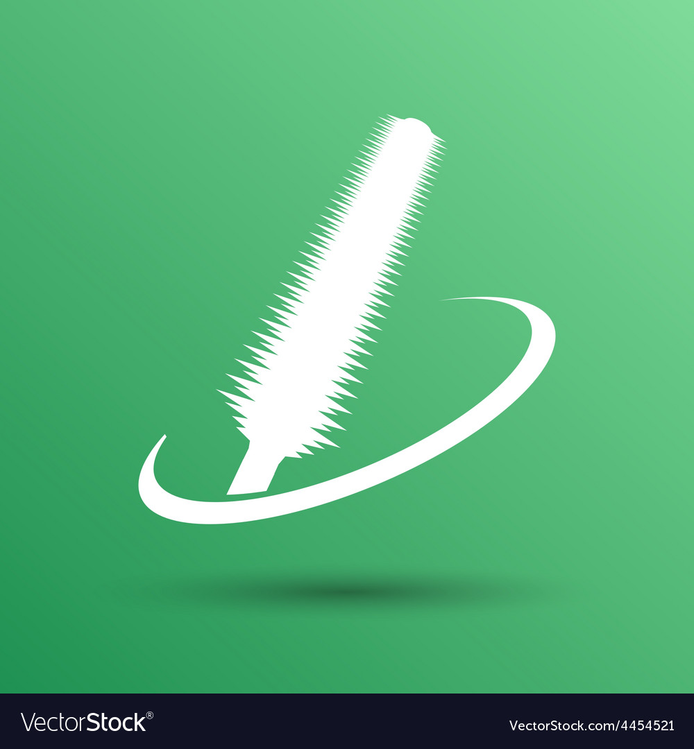 Collection of a mascara shapes on white background vector | Price: 1 Credit (USD $1)