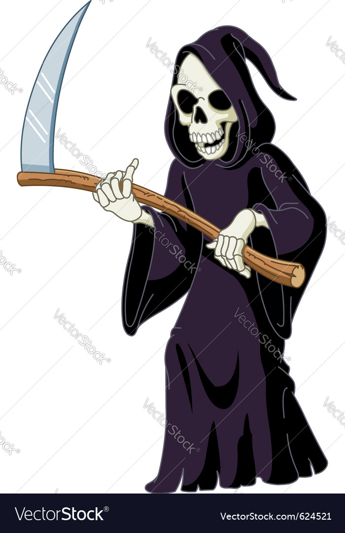 Grim reaper vector | Price: 3 Credit (USD $3)