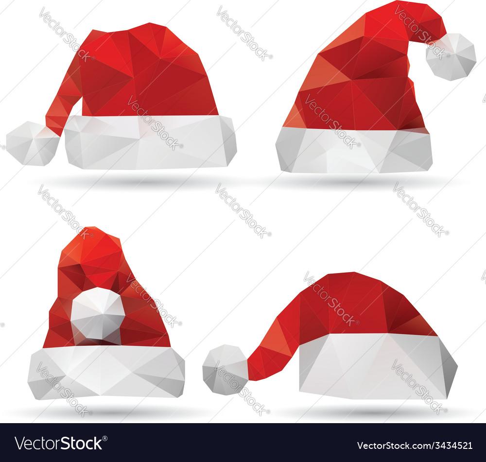 Santa claus hat vector | Price: 1 Credit (USD $1)