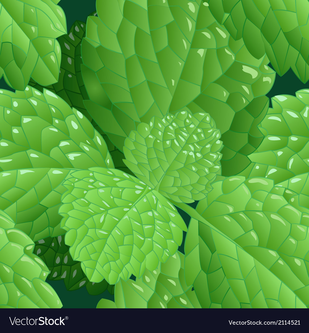 Seamless mint background vector | Price: 1 Credit (USD $1)