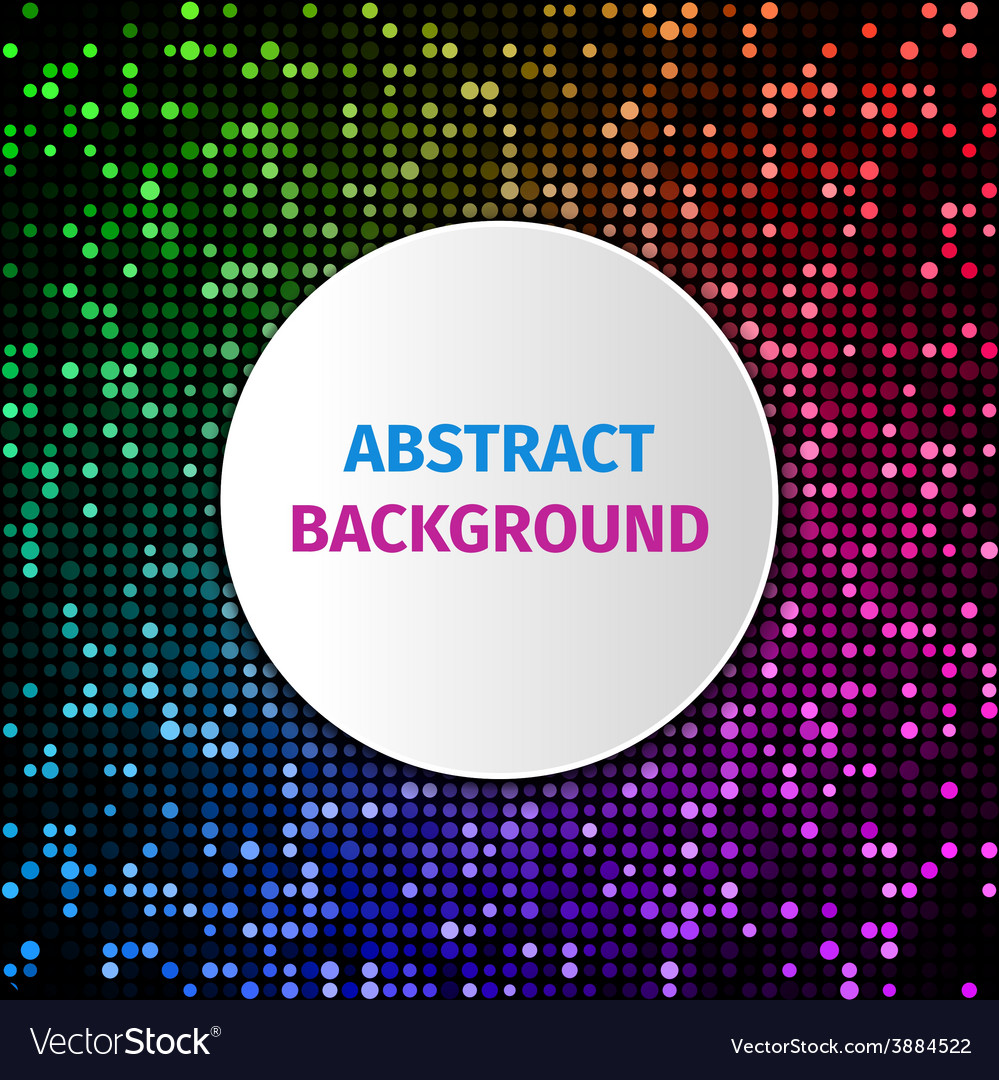Abstract dot background vector | Price: 1 Credit (USD $1)