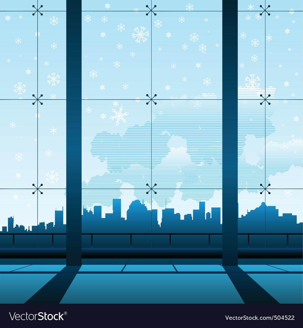 Building interior vector | Price: 1 Credit (USD $1)