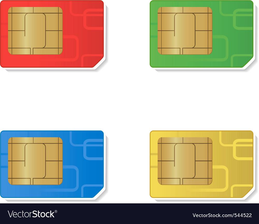 Sim cards vector   Price: 1 Credit (USD $1)