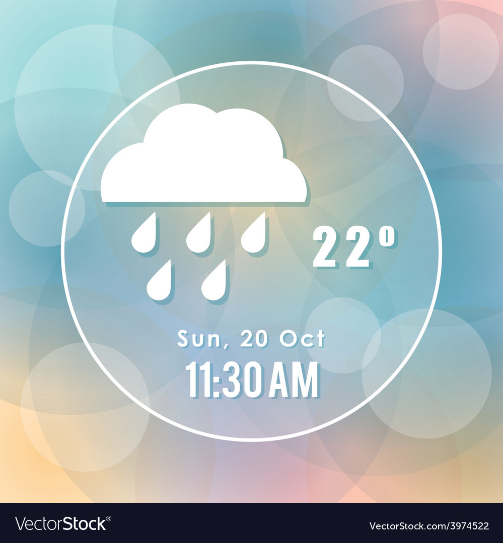 Weather concept vector | Price: 1 Credit (USD $1)