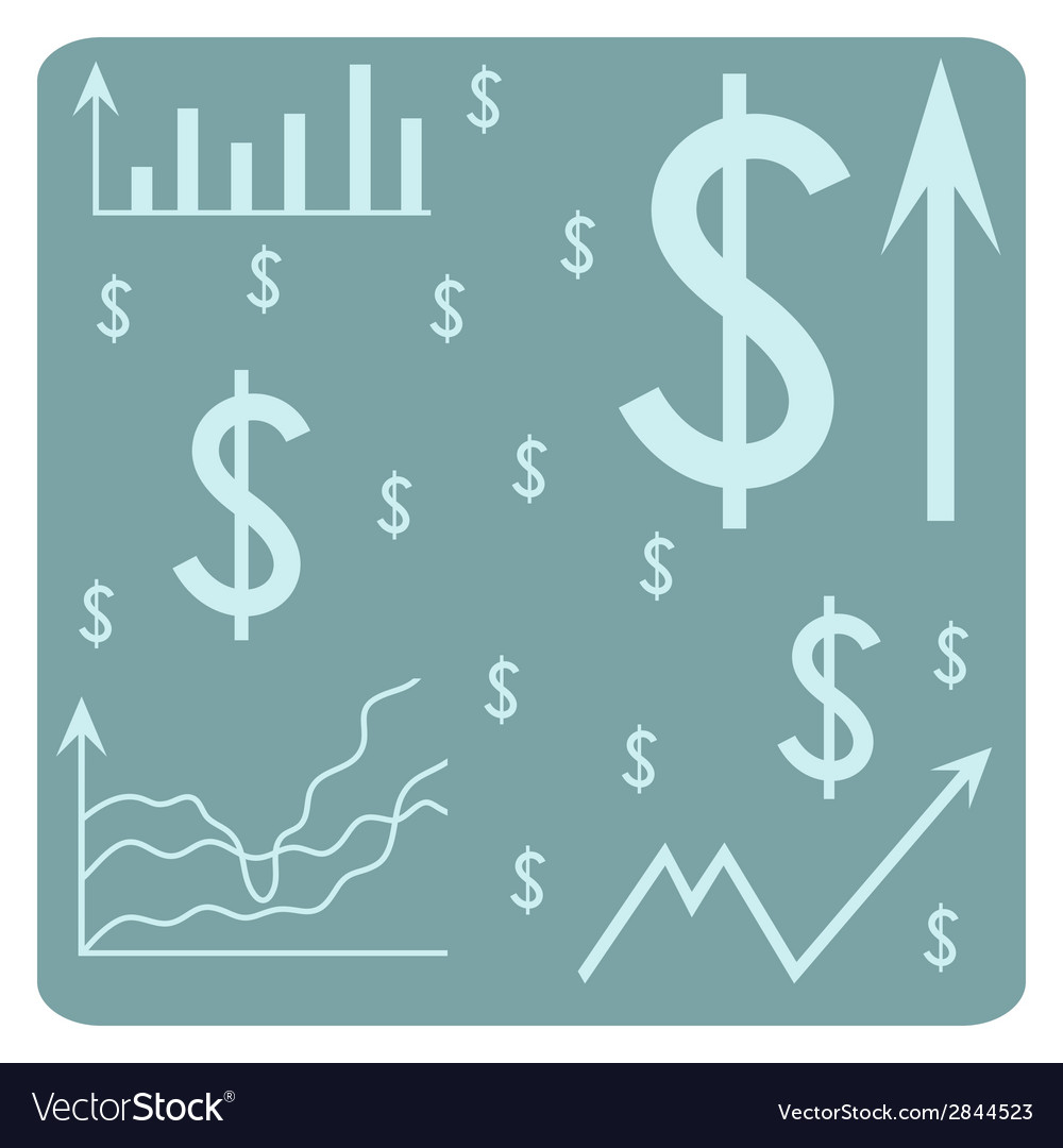 Background with dollar vector | Price: 1 Credit (USD $1)
