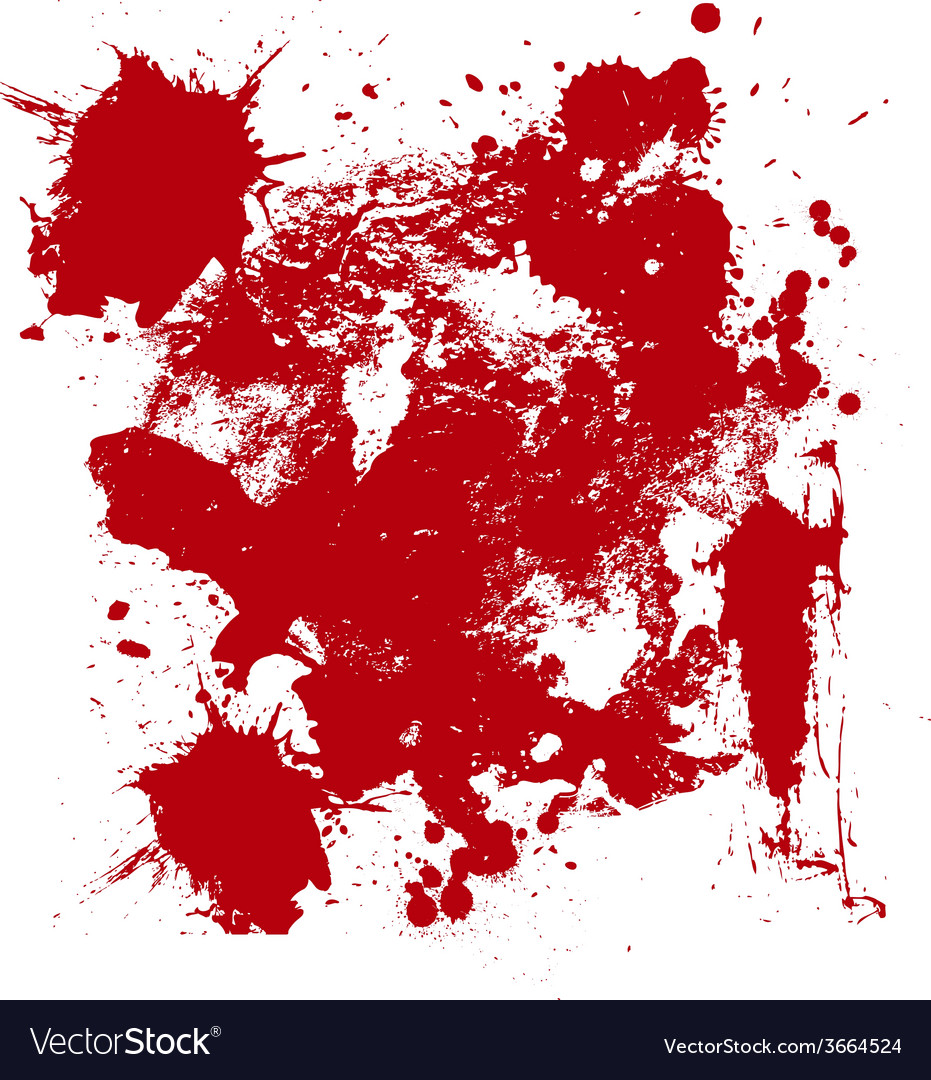 Blood drip and blood splatters 3 vector | Price: 1 Credit (USD $1)