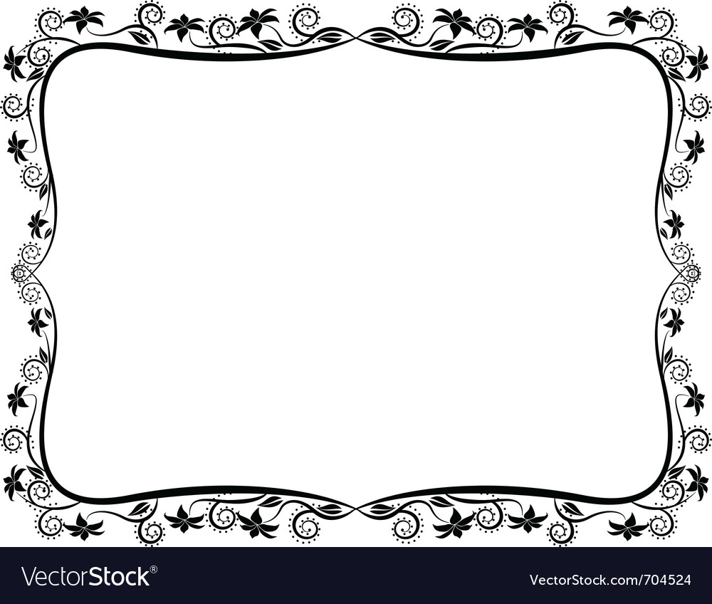 Border ornate vector | Price: 1 Credit (USD $1)