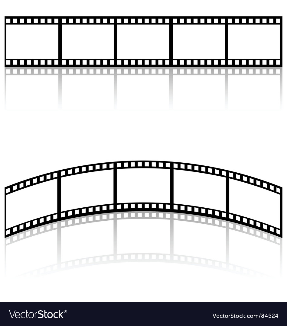 Filmstrip templates vector | Price: 1 Credit (USD $1)