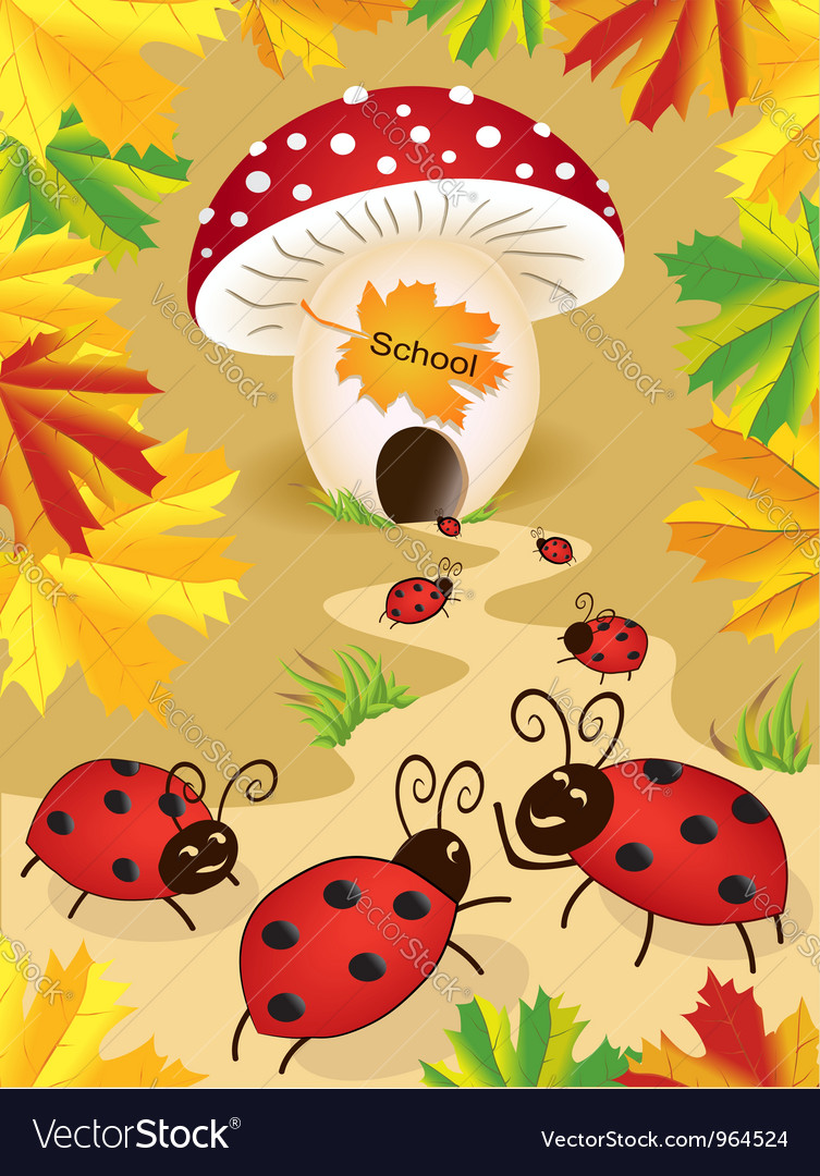 Funny on back to school theme vector | Price: 1 Credit (USD $1)