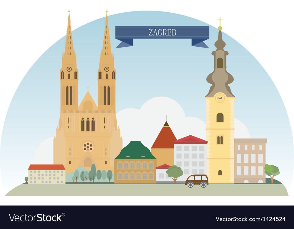 Zagreb vector | Price: 3 Credit (USD $3)