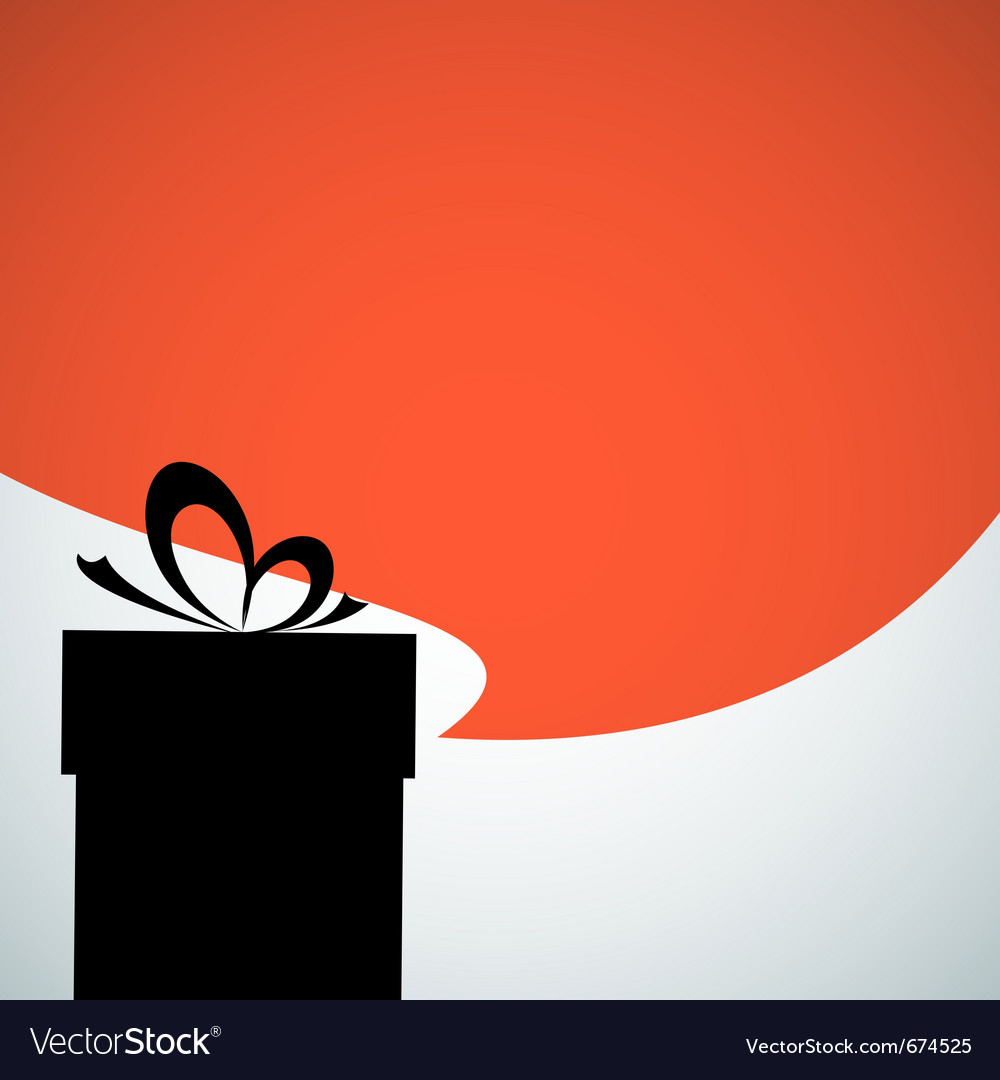 Abstract christmas present vector | Price: 1 Credit (USD $1)