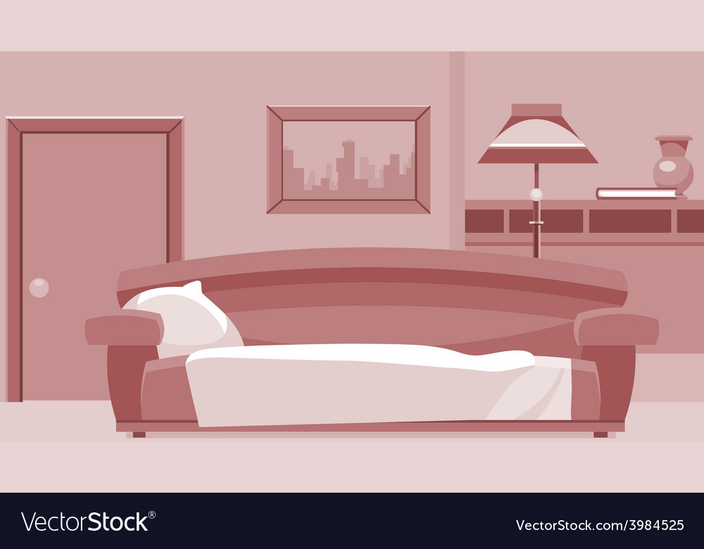 Cartoon interior room vector | Price: 3 Credit (USD $3)