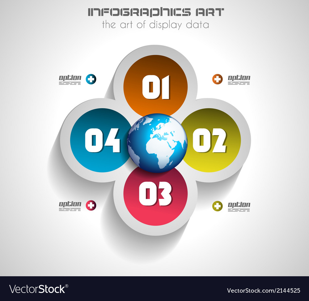 Infographics concept to display your data vector | Price: 1 Credit (USD $1)