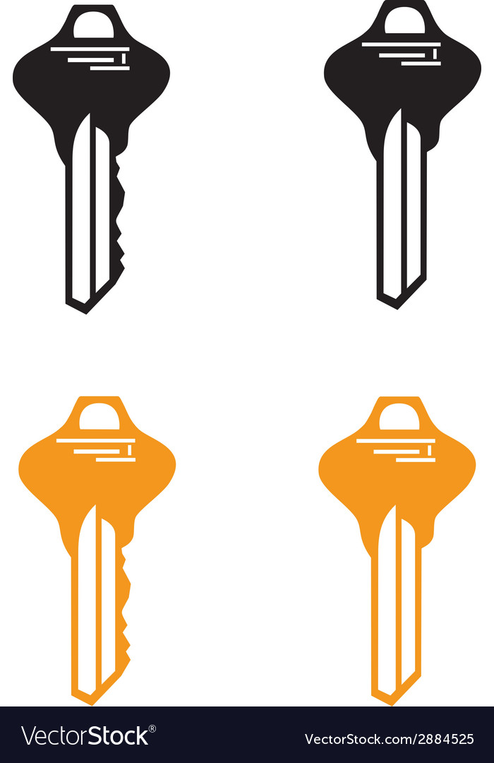 Key from house vector | Price: 1 Credit (USD $1)
