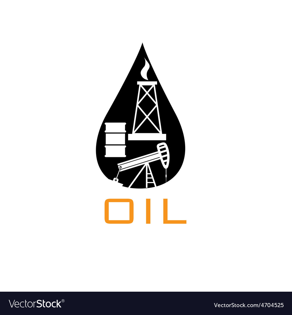Oil industry design template vector | Price: 1 Credit (USD $1)