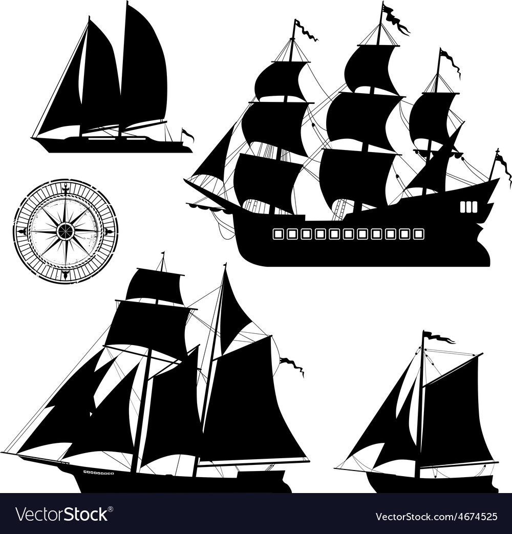 Yachts vector | Price: 1 Credit (USD $1)