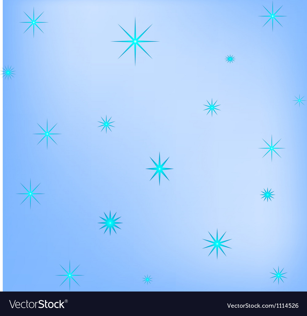 Blue background of snowflakes vector   Price: 1 Credit (USD $1)