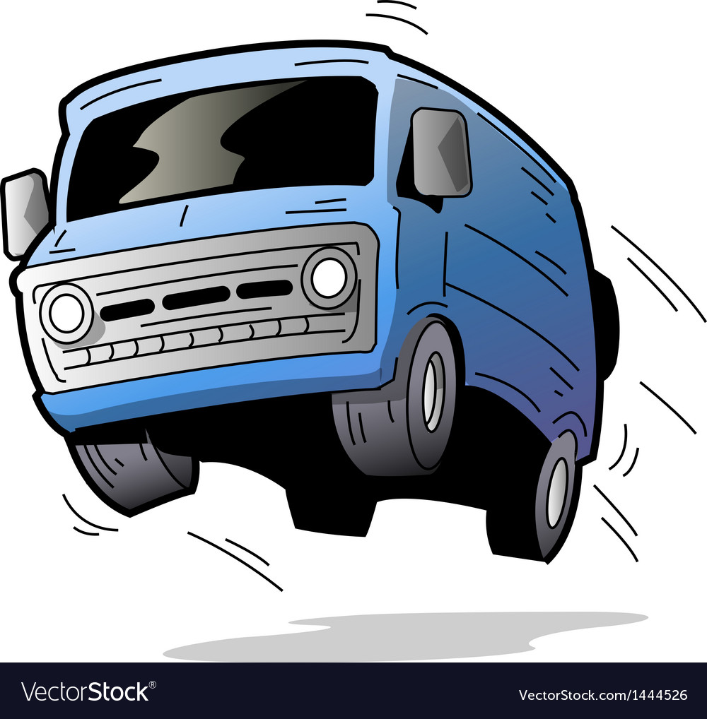 Fun van vector | Price: 1 Credit (USD $1)
