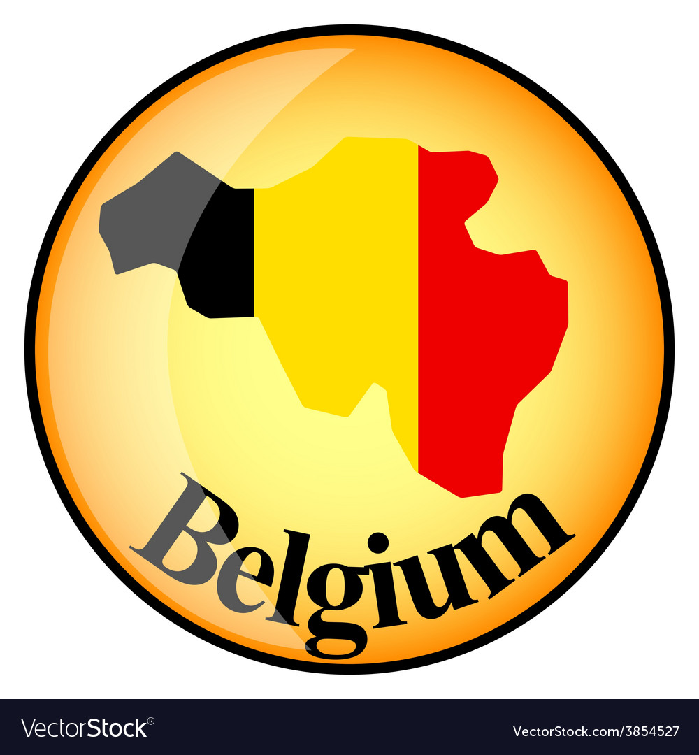 Button belgium vector | Price: 1 Credit (USD $1)