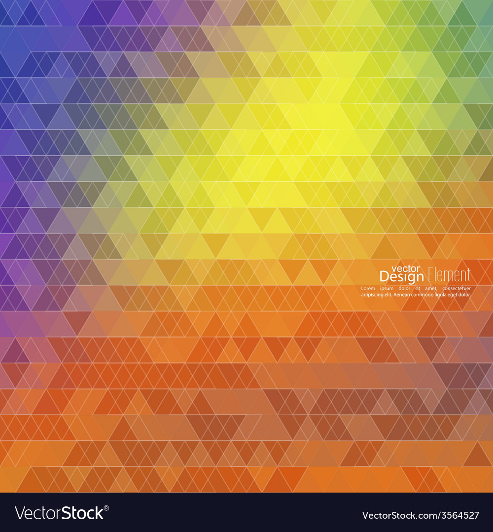 Creative abstract triangle pattern vector | Price: 1 Credit (USD $1)
