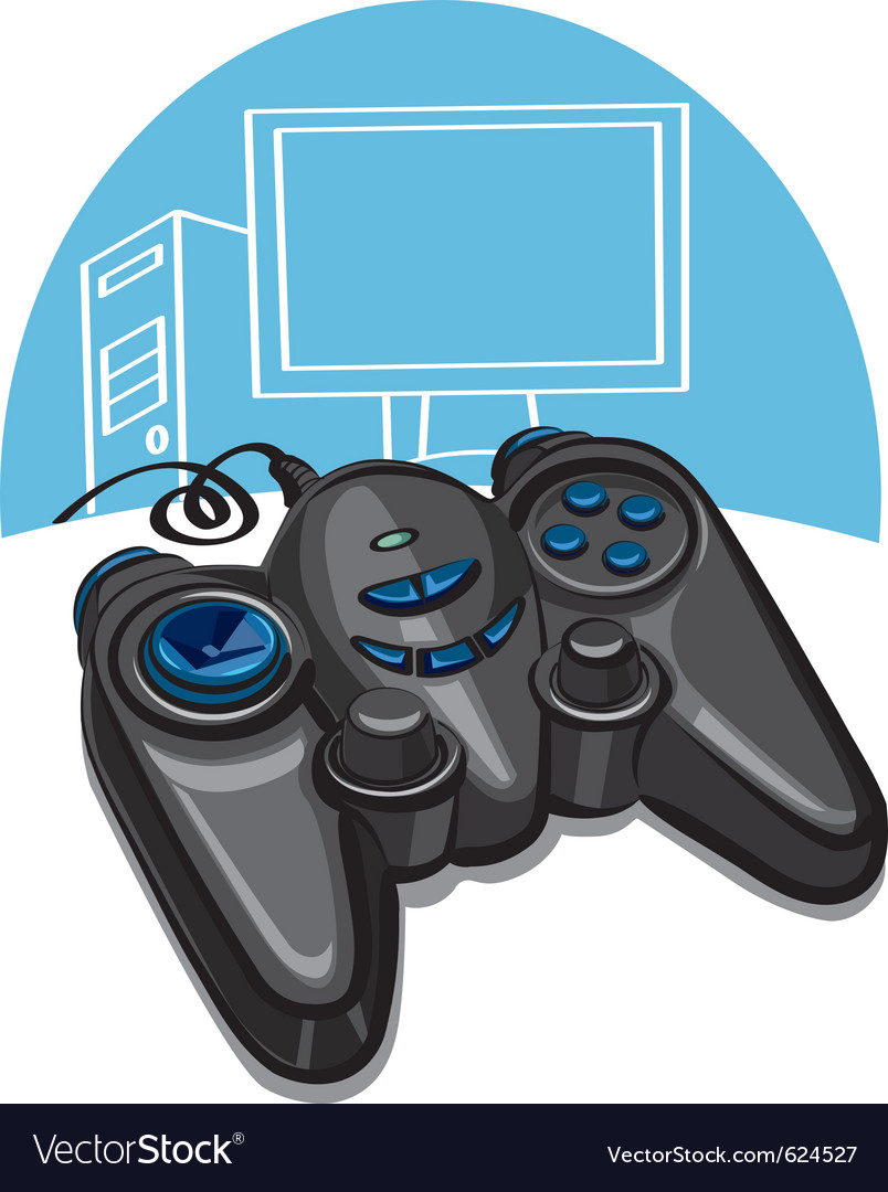 Game controller vector | Price: 3 Credit (USD $3)