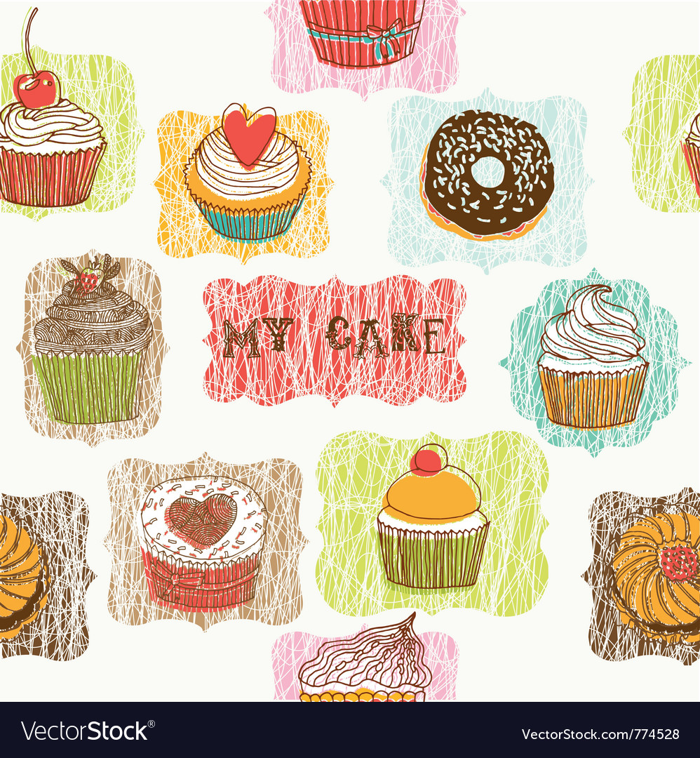 My cake drawing vector | Price: 1 Credit (USD $1)