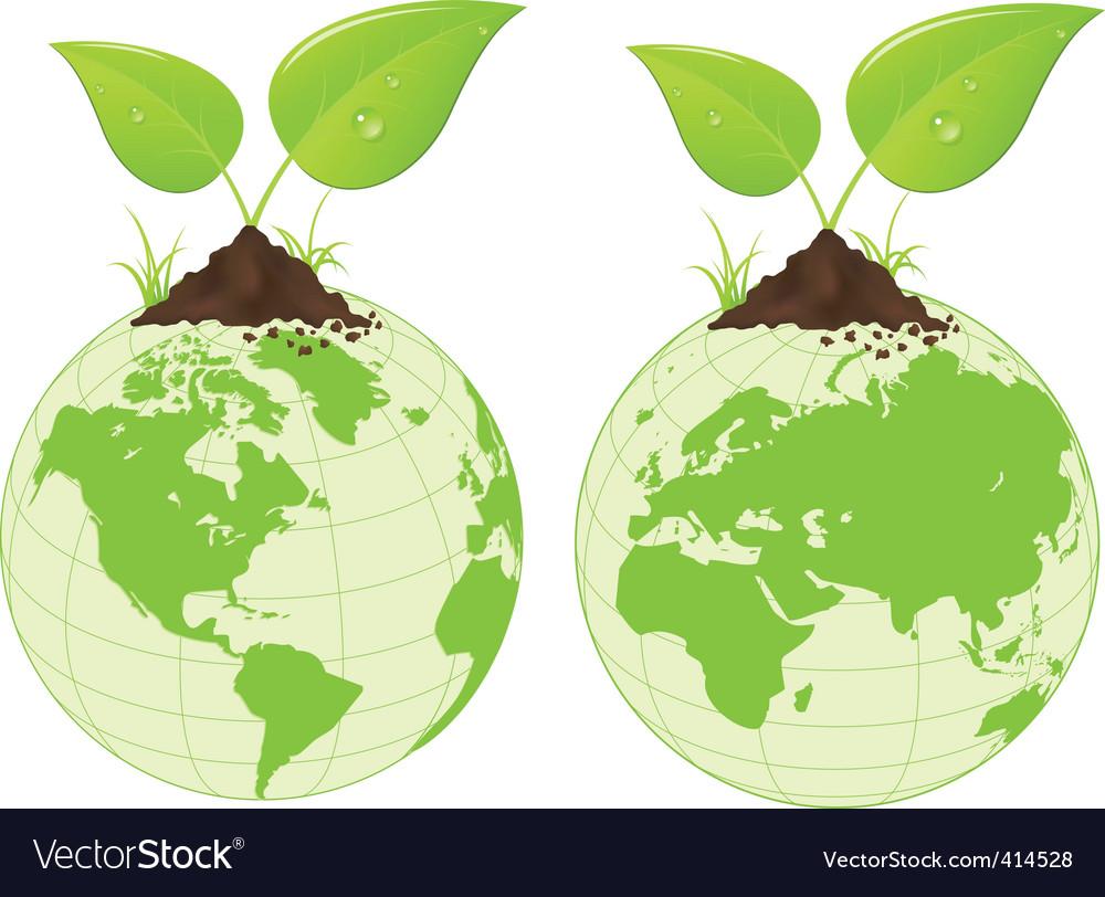 Natural world vector | Price: 1 Credit (USD $1)