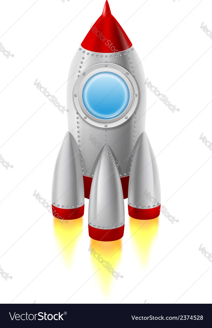 Rocket vector | Price: 1 Credit (USD $1)