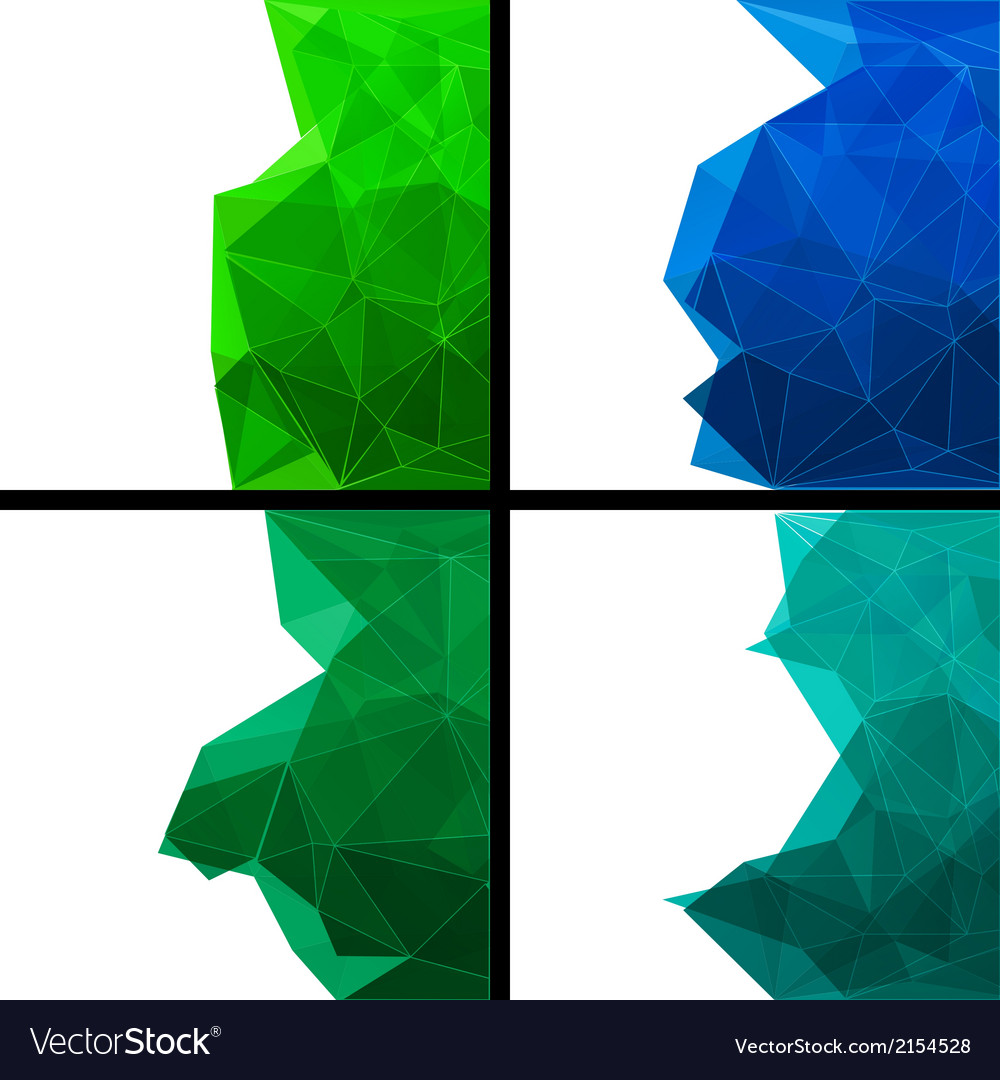 Set of abstract modern style backgrounds vector   Price: 1 Credit (USD $1)