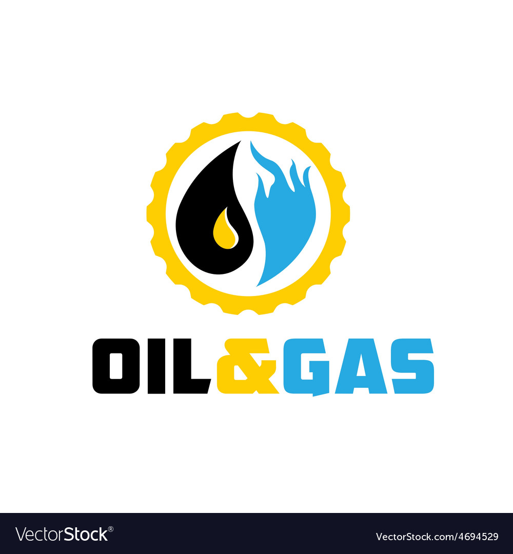 Oil and gas industry iluustration vector | Price: 1 Credit (USD $1)