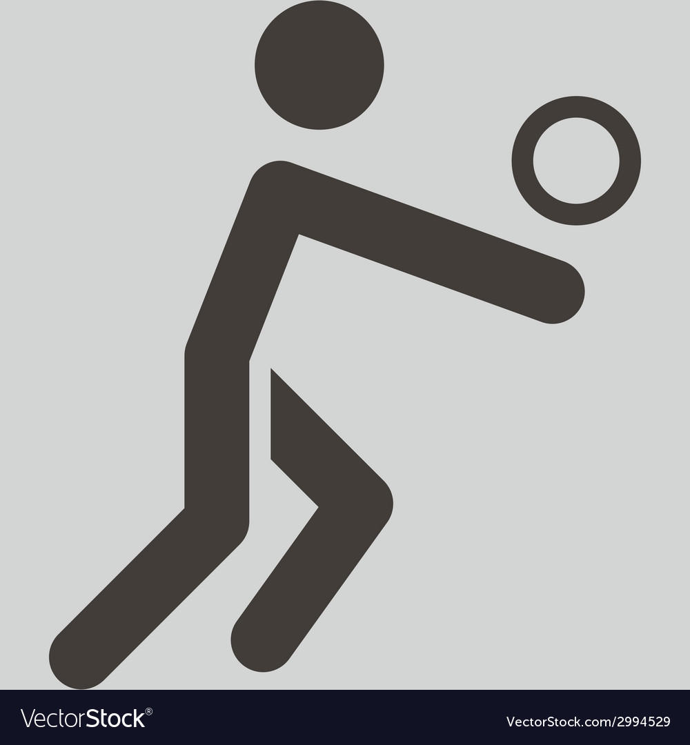 Volleiball icon vector | Price: 1 Credit (USD $1)
