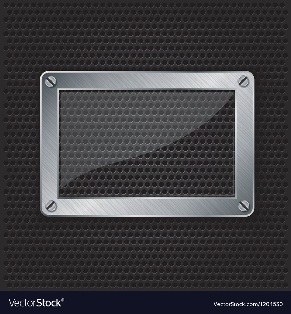 Glass frame grill border vector | Price: 1 Credit (USD $1)