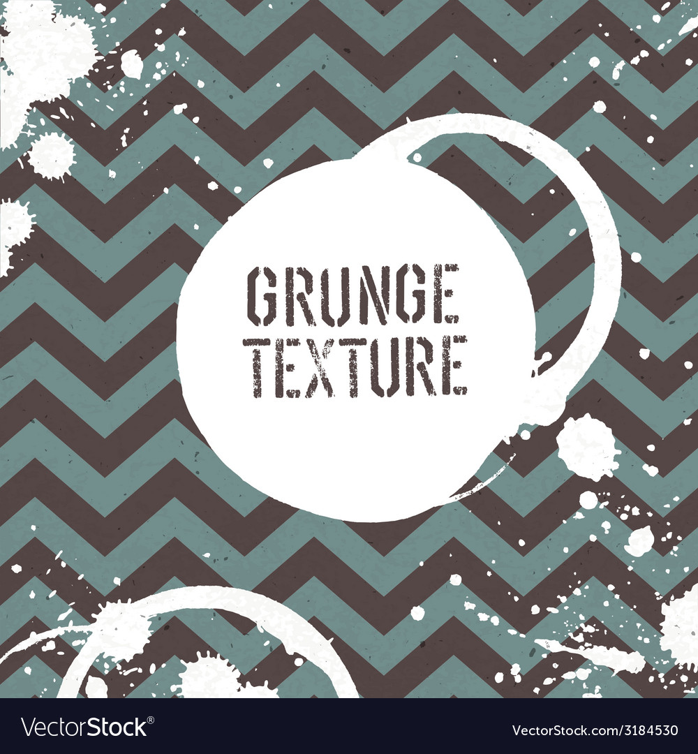 Grunge zigzag pattern seamless vector | Price: 1 Credit (USD $1)