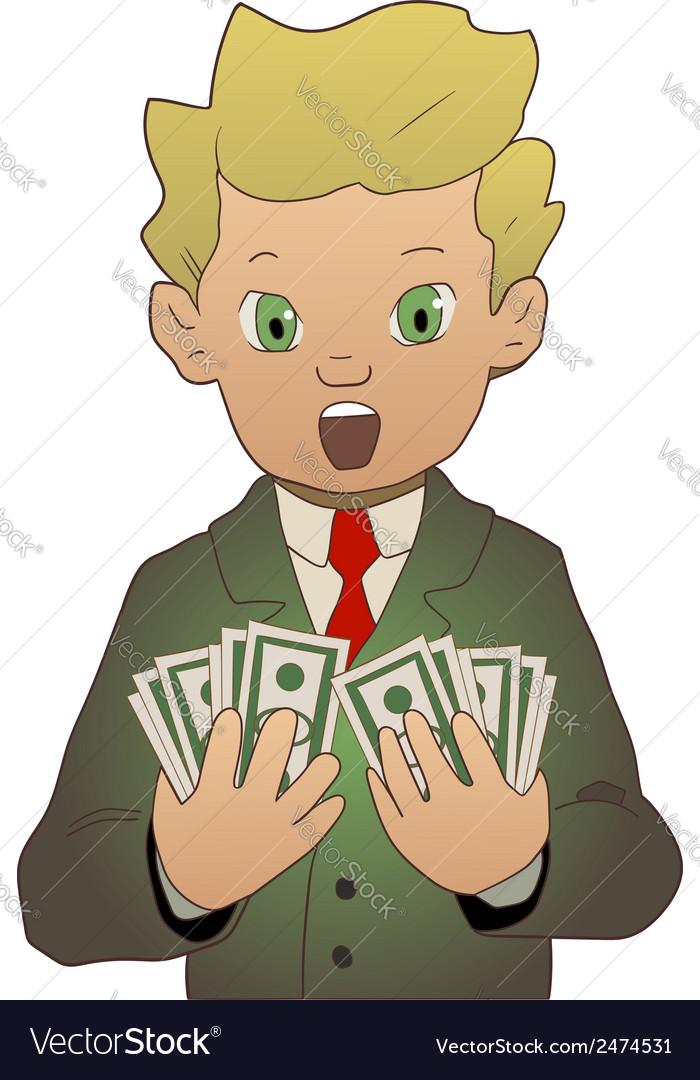 Got money vector | Price: 1 Credit (USD $1)