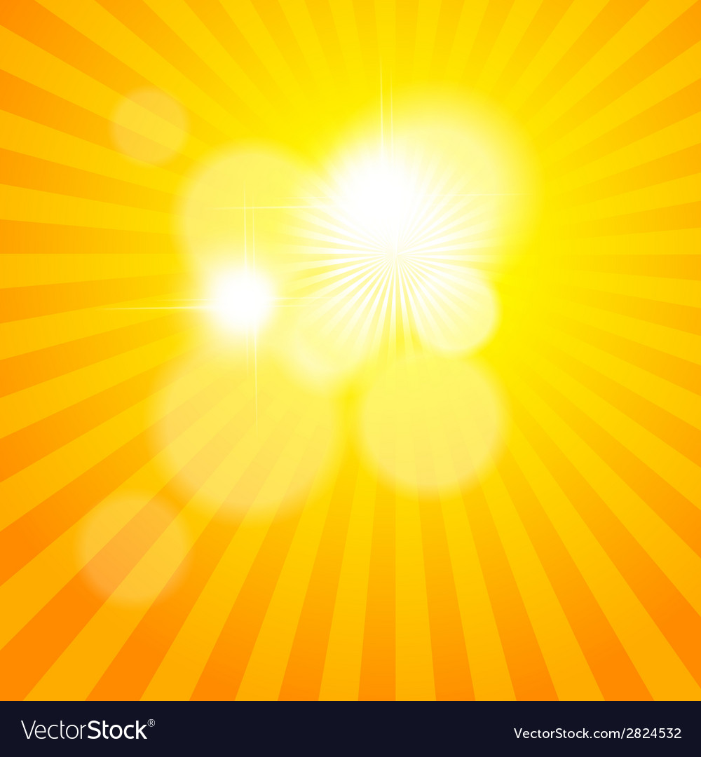 Sun sunburst pattern vector | Price: 1 Credit (USD $1)