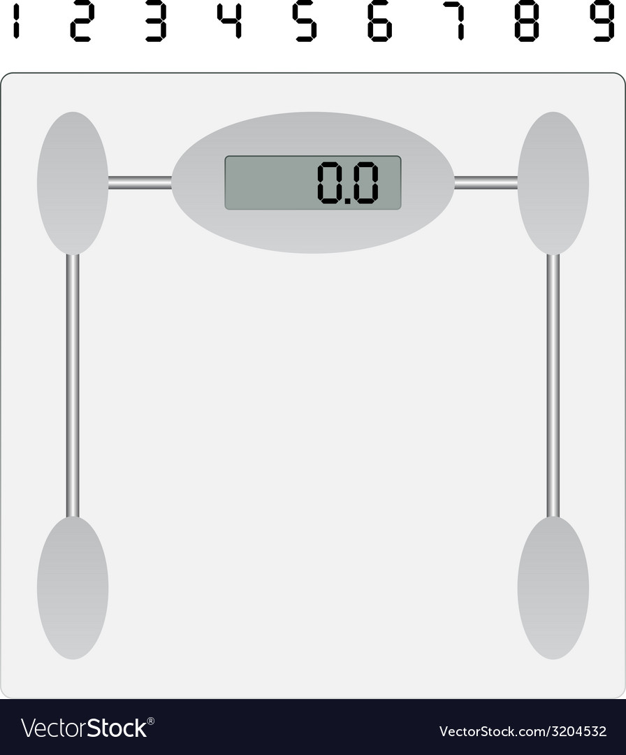 Weight scale vector | Price: 1 Credit (USD $1)
