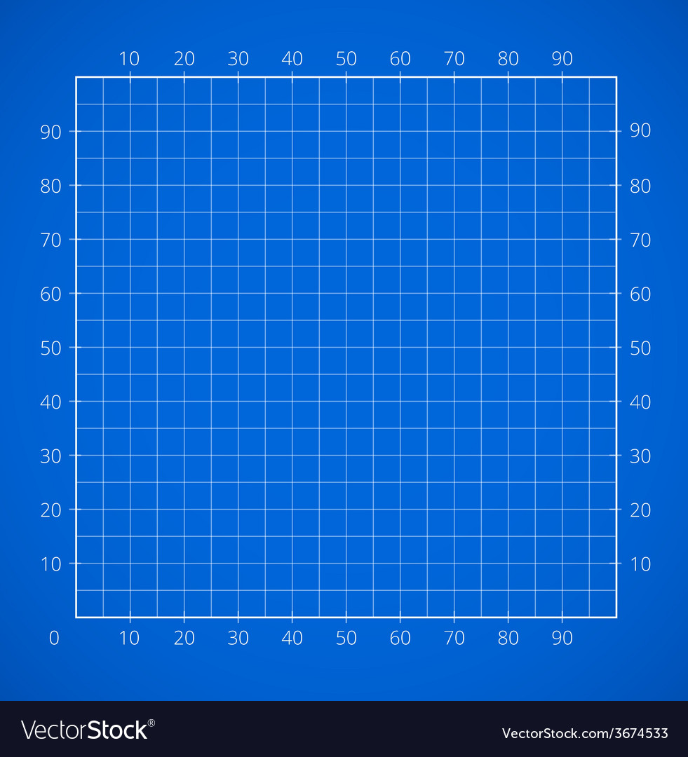 Blueprint squared paper sheet vector | Price: 1 Credit (USD $1)