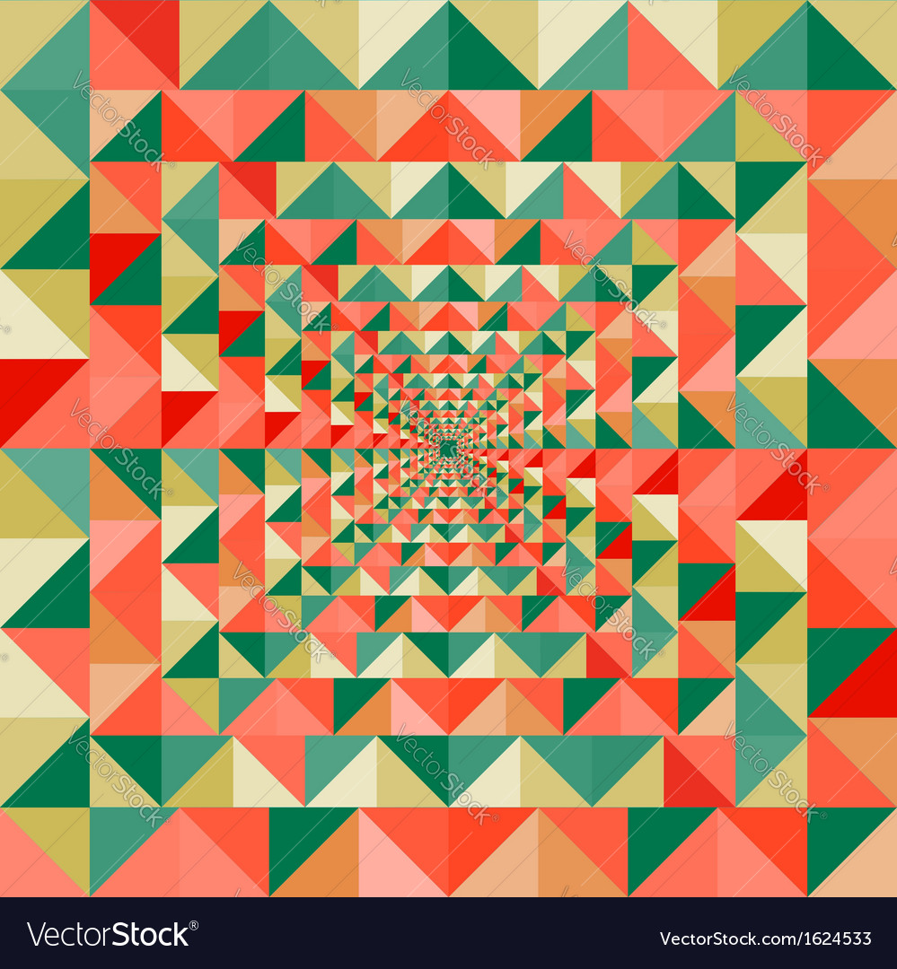 Colorful visual effect seamless pattern background vector | Price: 1 Credit (USD $1)