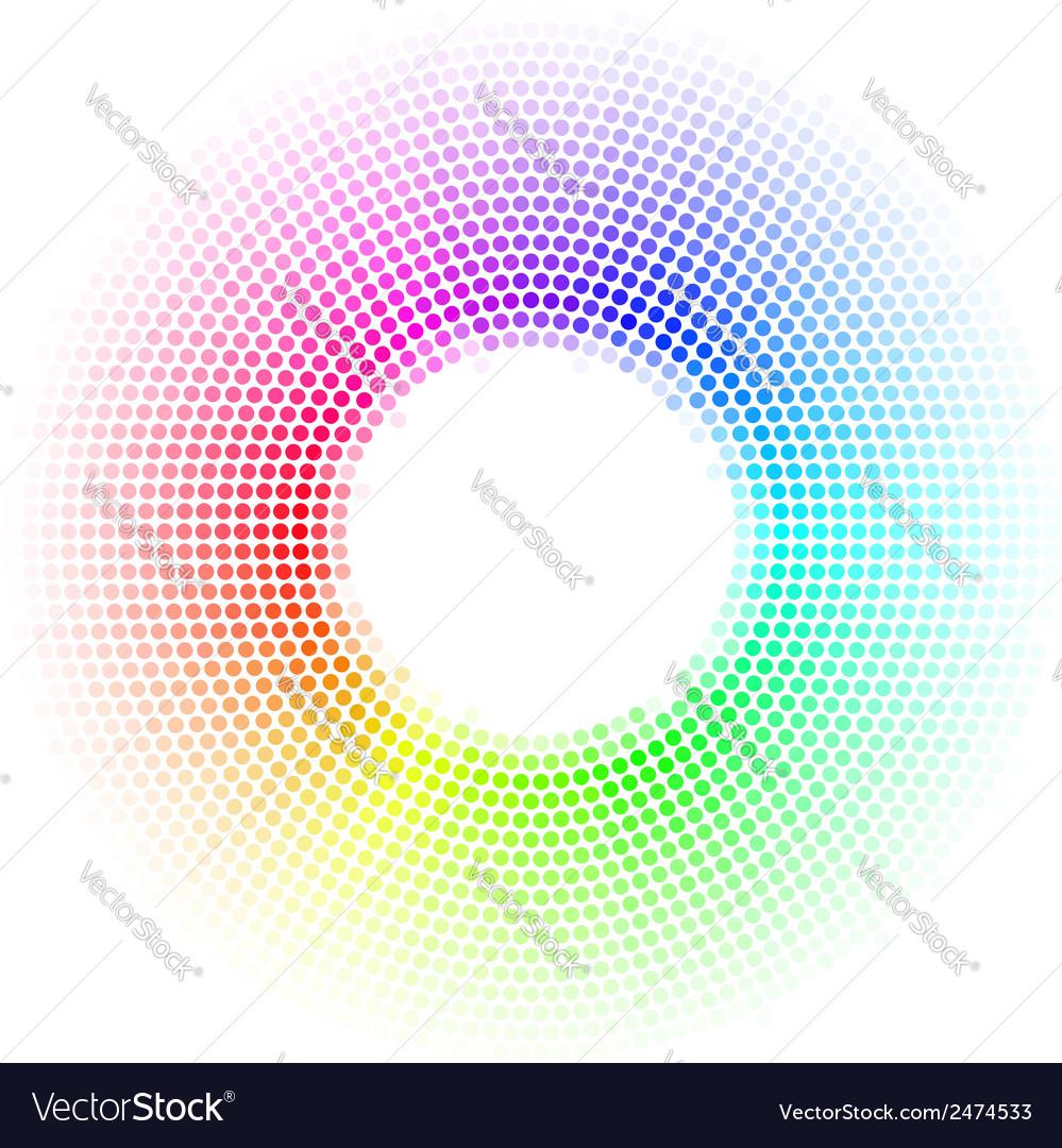 Dots digital form vector | Price: 1 Credit (USD $1)