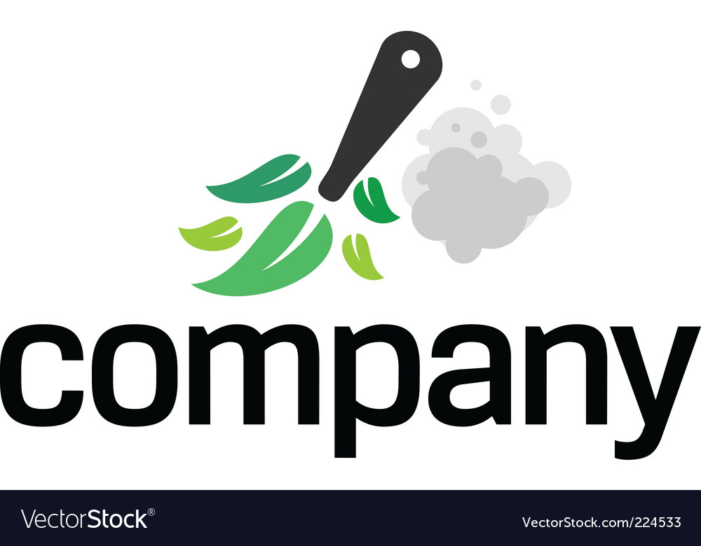 House cleaning logo vector | Price: 1 Credit (USD $1)
