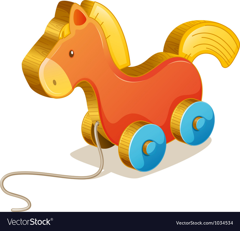 Wooden toy vector | Price: 1 Credit (USD $1)