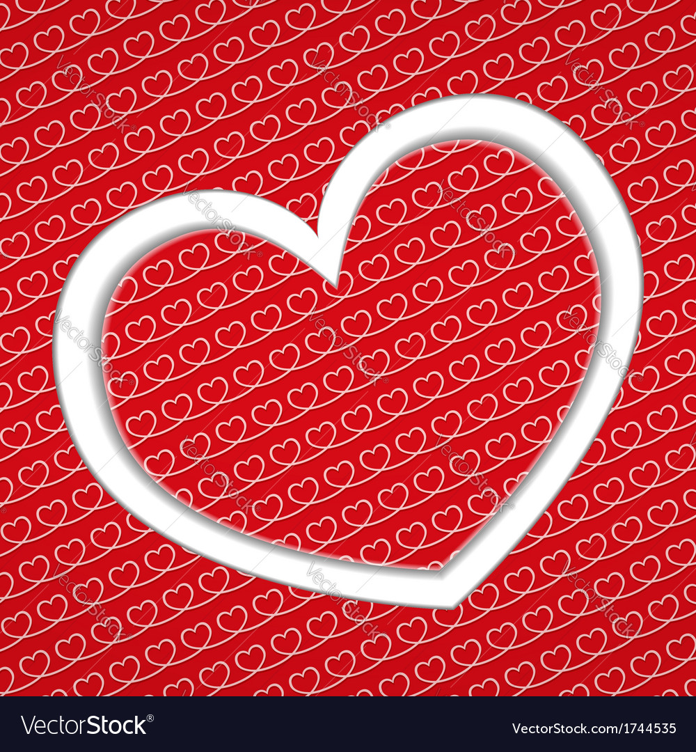 Backgound with hearts vector | Price: 1 Credit (USD $1)