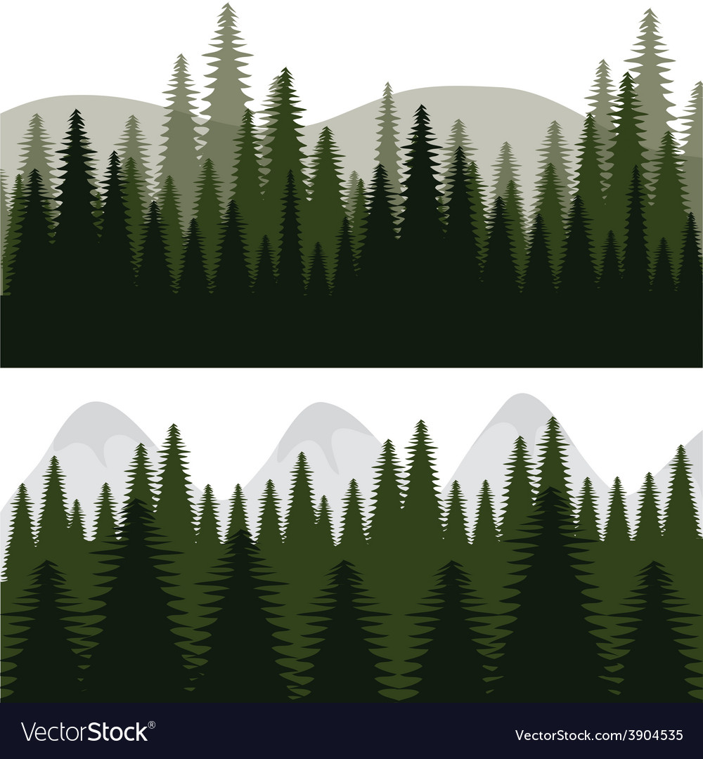 Forest design vector | Price: 1 Credit (USD $1)